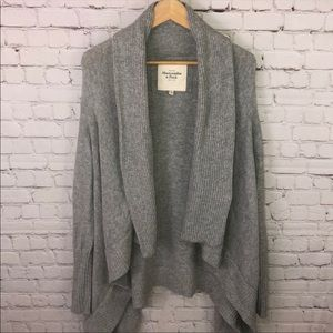 Abercrombie & Fitch Gray Sweater Oversized